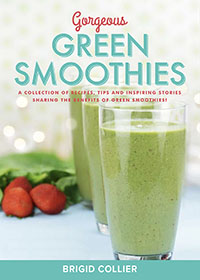 Gorgeous Green Smoothies - Brigid Collier (Book cover image)
